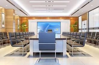长沙办公室装修公司在装修设计报价时对办公室中智能办公整装的处理与装修材料选配