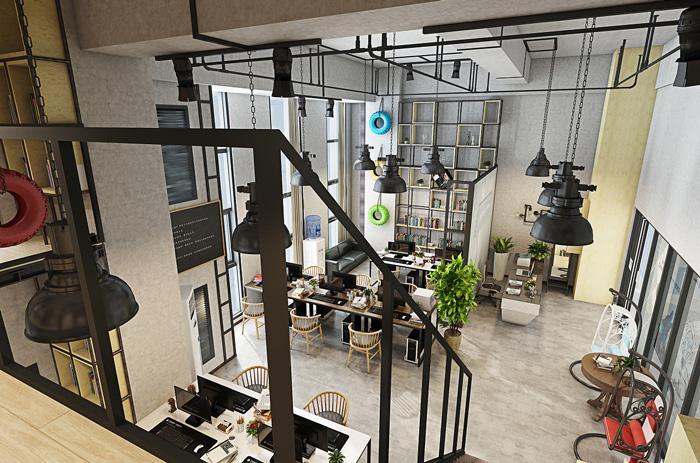 湖南浩安公装公司公装报道资讯知识最潮长沙办公室装修:涂鸦、LOFT设计、办公休闲区