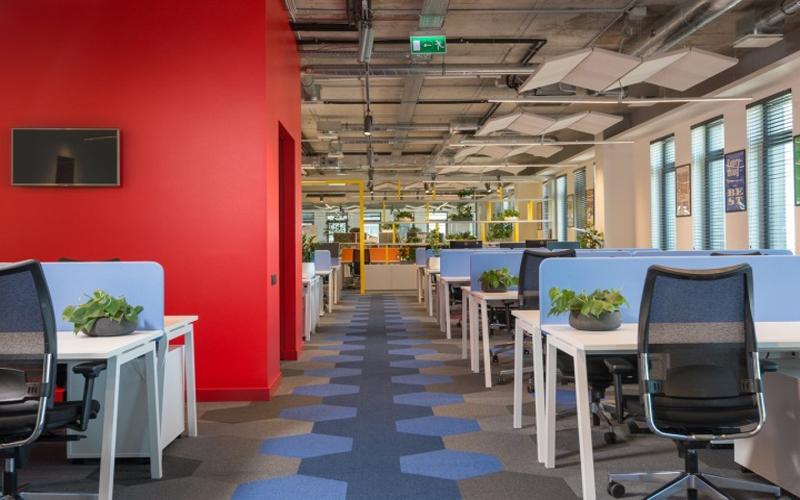 长沙装修公司浩安公装办公空间装修设计案例湘潭温馨舒适风企业办公室装修设计效果图