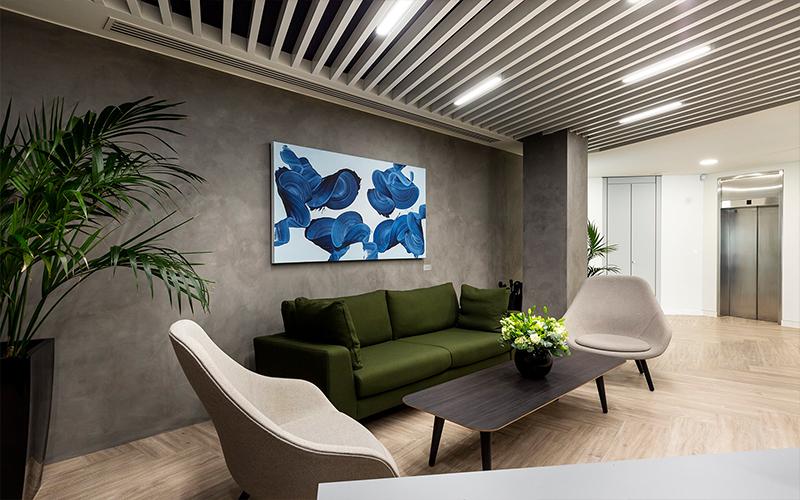 长沙装修公司浩安公装办公空间装修设计案例张家界绿色低碳温暖舒适风格旅游公司办公室装修效果图
