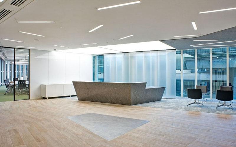 湖南浩安公装公司装修施工资讯知识长沙办公室装修设计如何考虑采光问题?