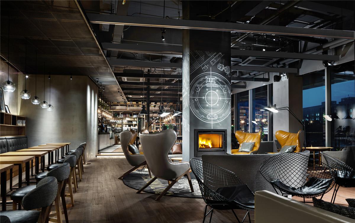 长沙工装公司浩安公装商业空间案例效果图集