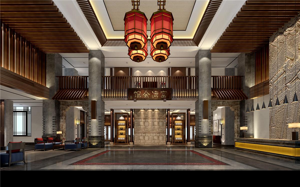 工装公司装潢设计作品商都酒店|复古风商务型装修设计效果
