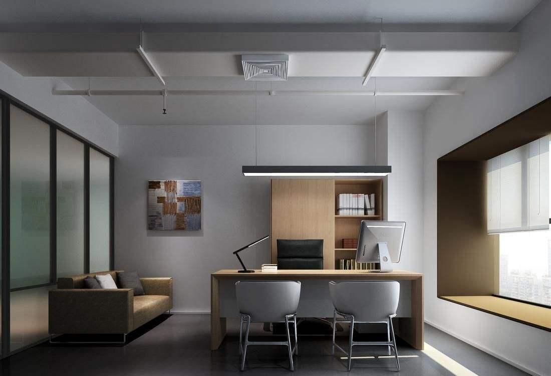 湖南浩安公装公司公装报道资讯知识办公室装修如何设计出高大上的色彩跟光线