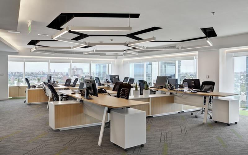 湖南浩安公装公司装修施工资讯知识办公室装修设计灯具安装及挑选技巧