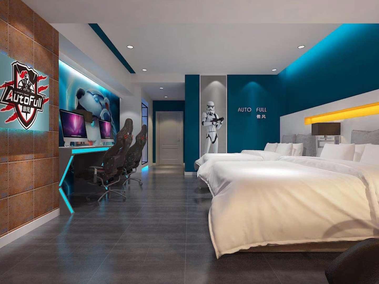 湖南浩安公装公司公装报道资讯知识电竞酒店装修设计规划指南