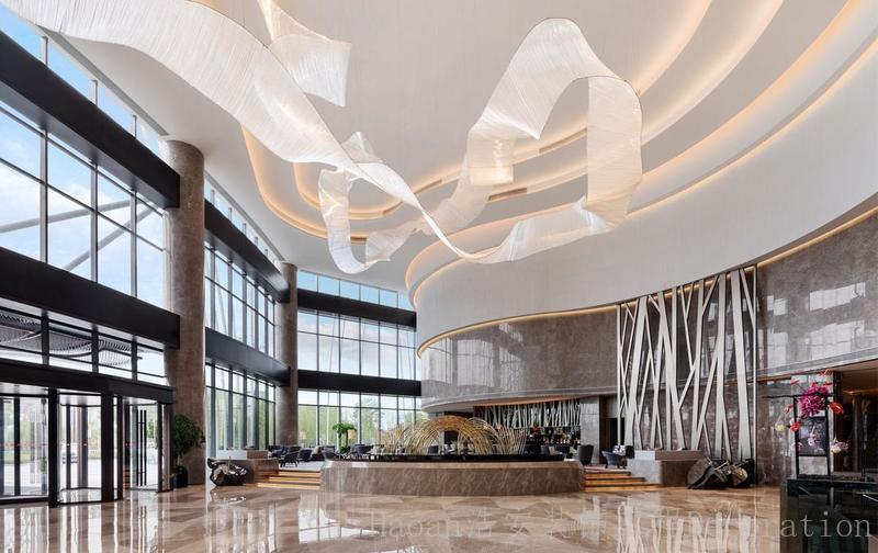 长沙装修公司浩安公装装修案例装修设计案例万达商务酒店装修设计