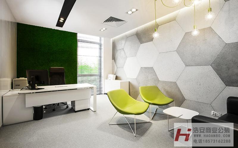 工装公司装潢设计作品酷吧网络贸易|1100平米办公空室装修设计