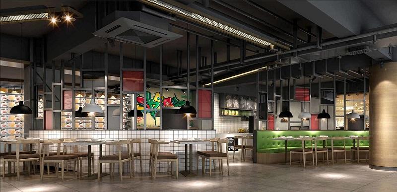 湖南浩安公装公司装修设计资讯知识餐饮连锁店装修设计所考虑的问题