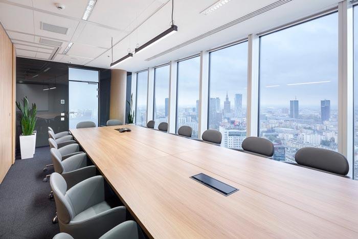 湖南浩安公装公司装修设计资讯知识让空间变得敞亮的办公室装修方法