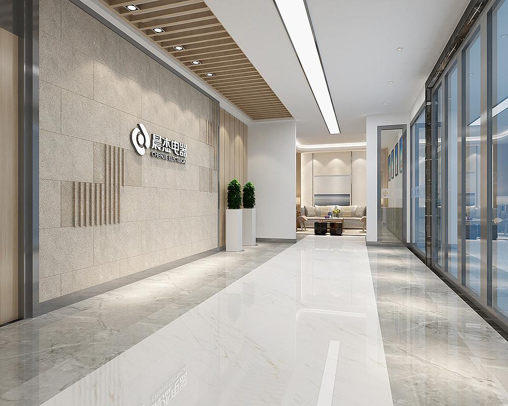 湖南浩安公装公司装修设计资讯知识办公室前台装修的风水讲究