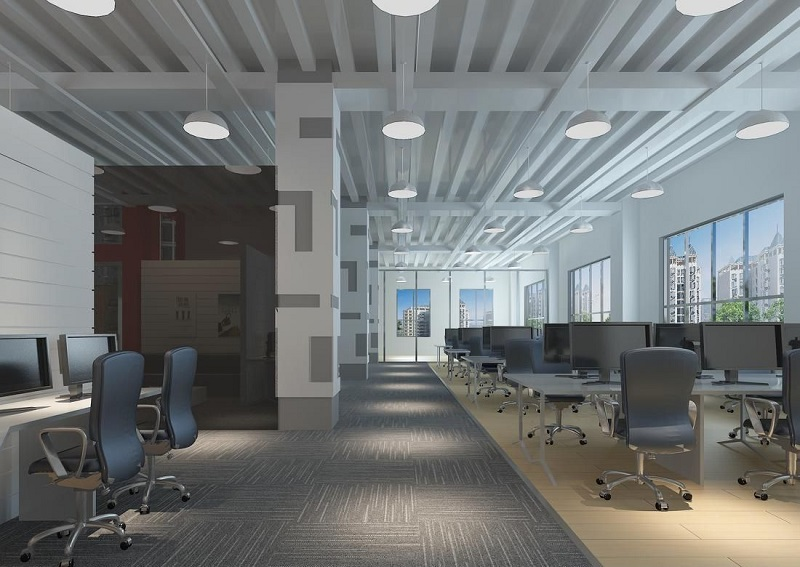 湖南浩安公装公司装修设计资讯知识长沙小型办公室如何既实用又体面