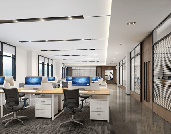 湖南浩安公装公司装修设计资讯知识长沙工装公司:办公室翻新墙面改造很重要!