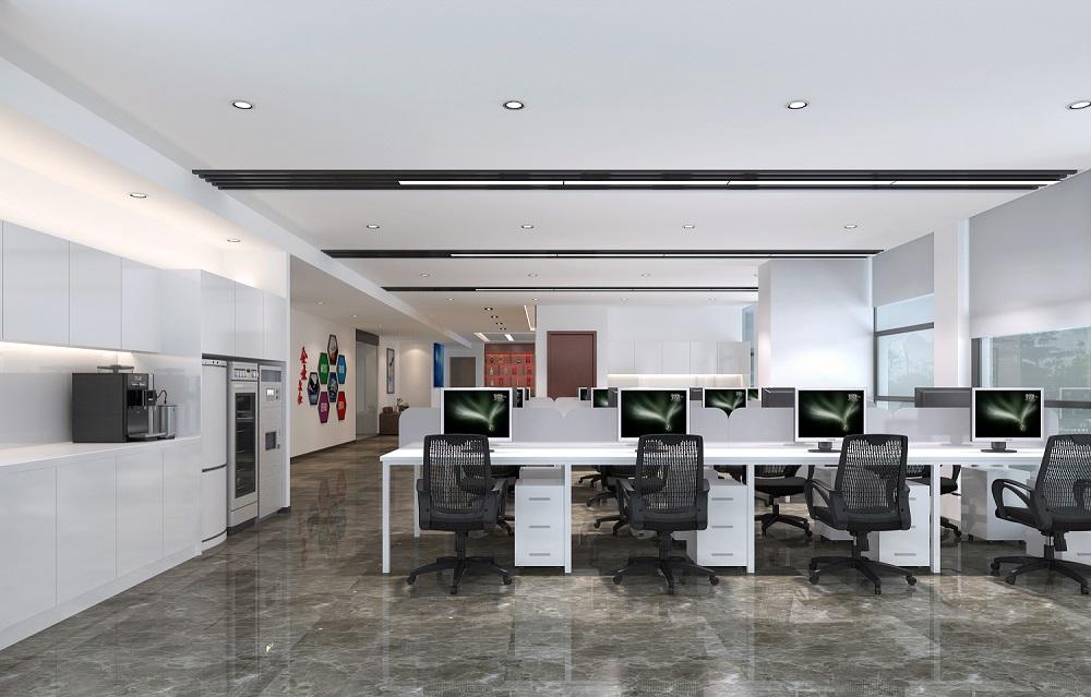 湖南浩安公装公司装修设计资讯知识办公室公装设计如何体现企业文化内涵?