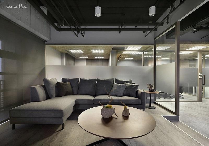 湖南浩安公装公司装修设计资讯知识办公室装修重点有哪些如何装修设计现代高档办公室