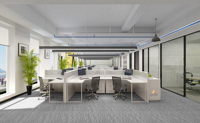 """湖南浩安公装公司装修设计资讯知识什么样的办公室装修设计能让空间无限大""""?"""