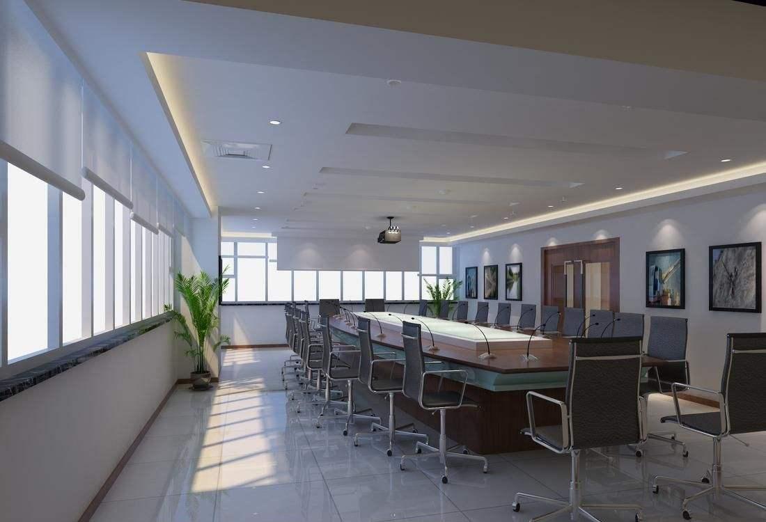 工装公司办公会议室装修设计消防施工图