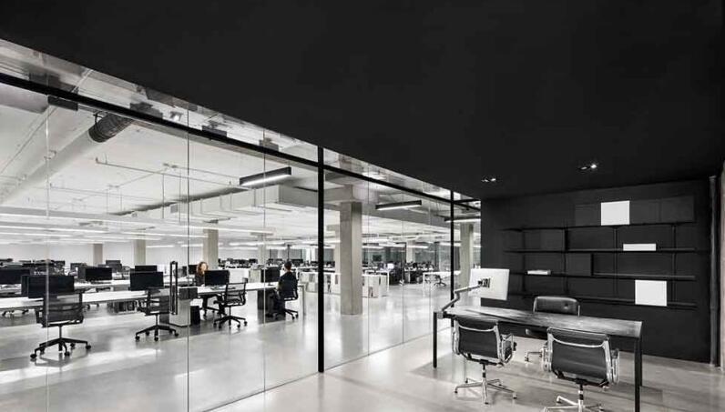 湖南浩安公装公司装修设计资讯知识长沙公装设计指南,怎样让办公室装修有利于工作效率,空间感扩大?