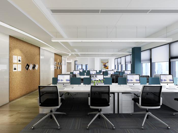 湖南浩安公装公司公装报道资讯知识为什么越来越多企业选择放开式办公区?办公室又该如何设计?