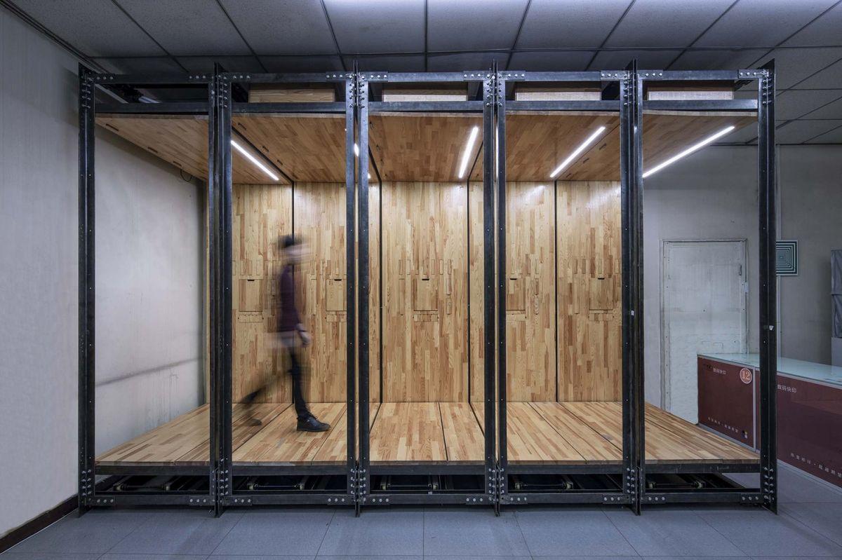 微型办公室装修在商业工作空间的有趣设计收纳设计功能