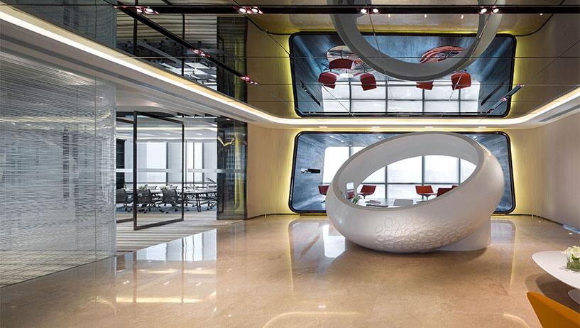 湖南浩安公装公司装修设计资讯知识浩安公装谈室内设计中欧式风格办公室装修设计