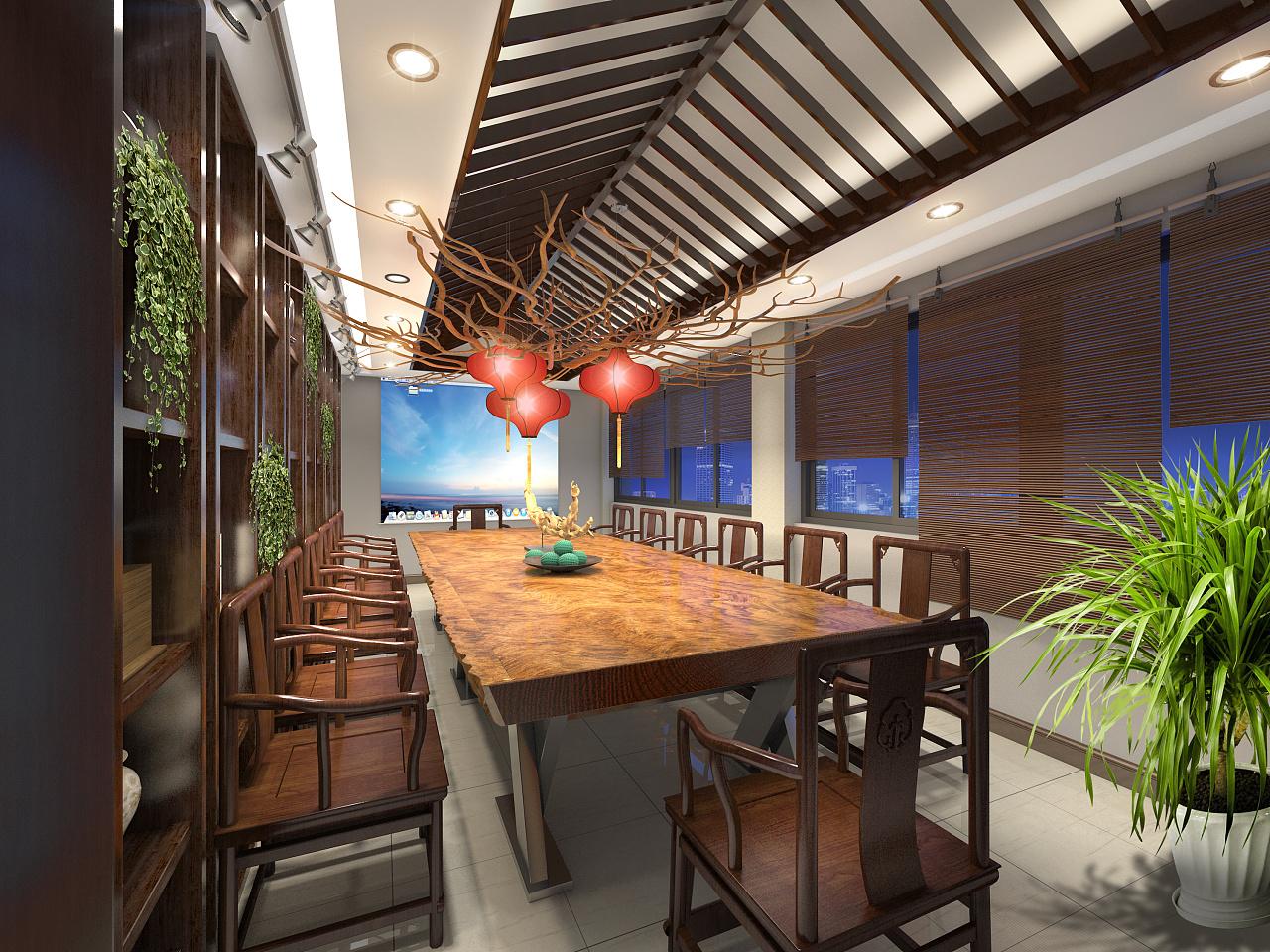湖南浩安公装公司装修设计资讯知识办公空间设计色彩的色相属性