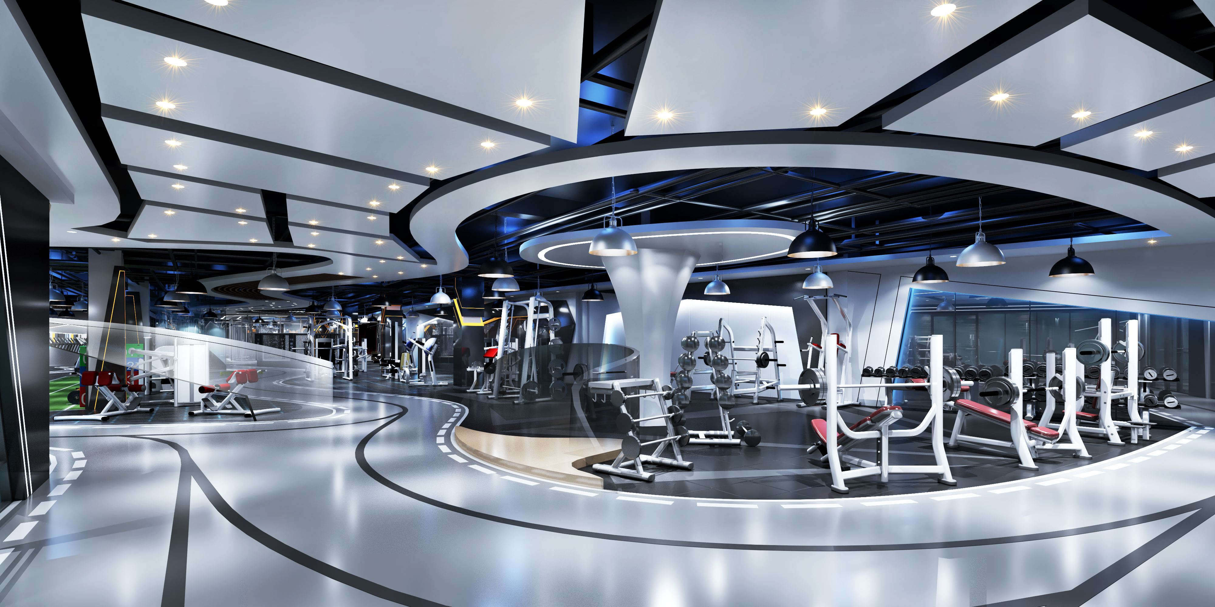 湖南浩安公装公司装修设计资讯知识办公空间设计色彩的纯度属性