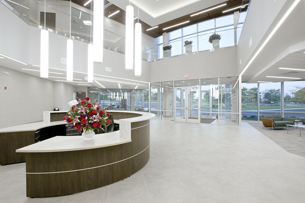 湖南浩安公装公司装修设计资讯知识办公室设计色彩的温度感