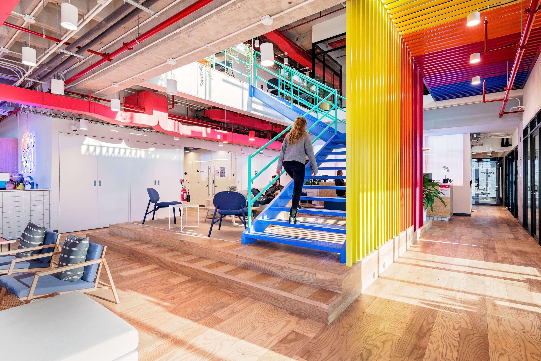 湖南浩安公装公司装修设计资讯知识办公室装修设计色彩的味觉感