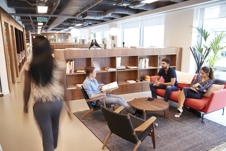 湖南浩安公装公司装修设计资讯知识大中型办公室装修设计色彩设计风格有哪些?