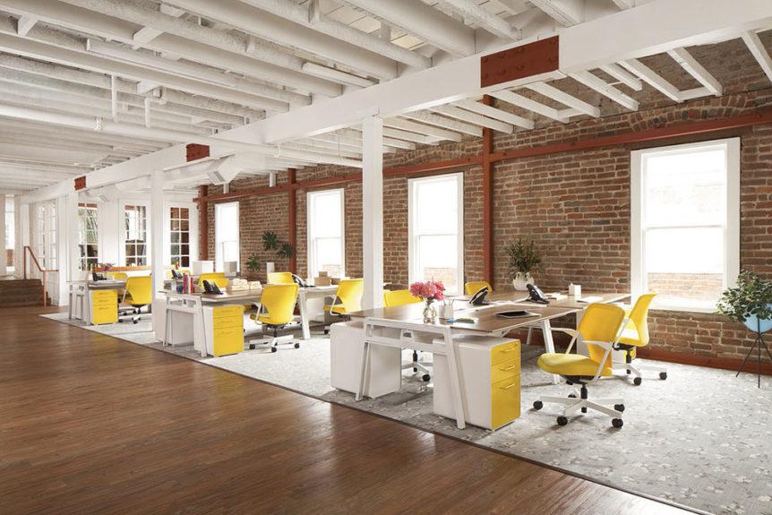 湖南浩安公装公司装修设计资讯知识如何让办公空间设计烘托氛围的形的心理效应