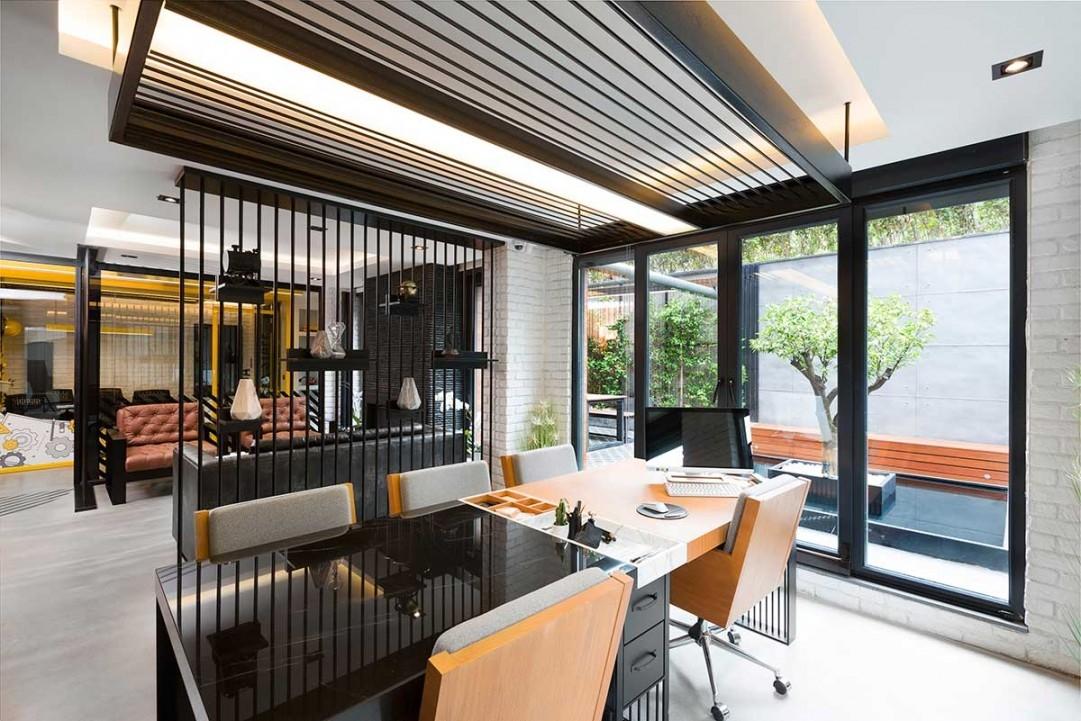 湖南浩安公装公司装修设计资讯知识办公楼宇室内设计比例与尺度、主从与重点原则