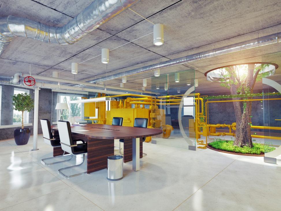 湖南浩安公装公司装修设计资讯知识株洲办公设计空间色彩与气候的搭配黄金比例