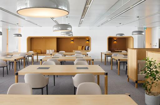 湖南浩安公装公司装修设计资讯知识长沙办公设计室内色彩设计风格