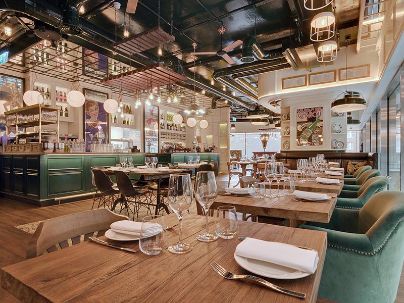 湖南浩安公装公司装修设计资讯知识湖南餐厅装修设计公司照明设计的运用恰到好处