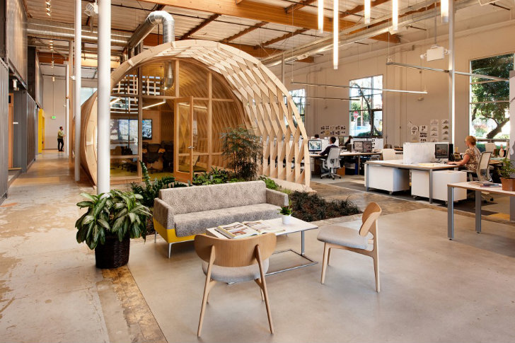 湖南浩安公装公司装修设计资讯知识湘潭办公室装修家具设计的美观性绿色化趋势