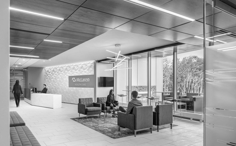 湖南浩安公装公司装修设计资讯知识岳阳办公室装修建筑组织空间与分隔空间的作用