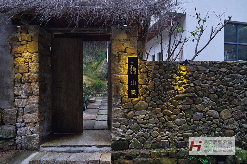 浩安公装公司湖南区域酒店餐饮装修案例隐西山院|永州民宿源自乡野的心灵治愈
