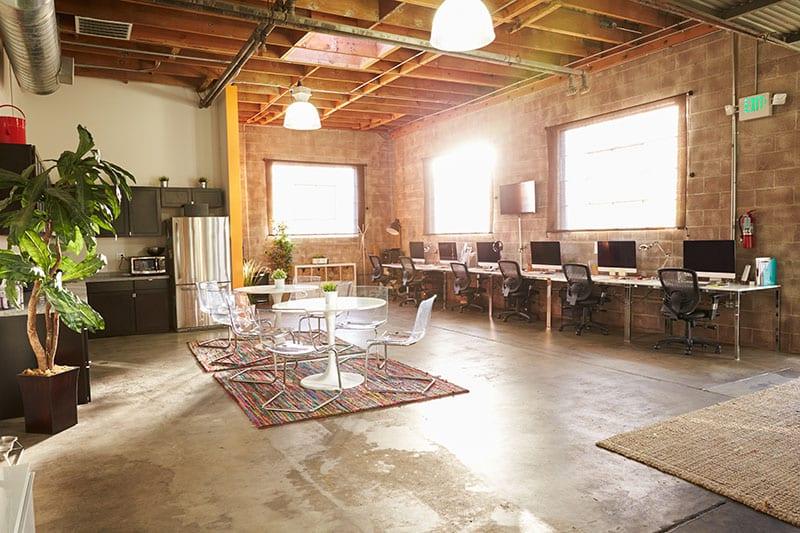 湖南浩安公装公司装修设计资讯知识常德办公室装修营造特定的环境氛围设计