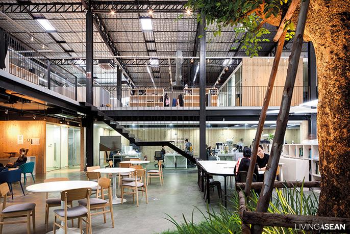 湖南办公楼装饰材料龙骨的应用与设计效果图