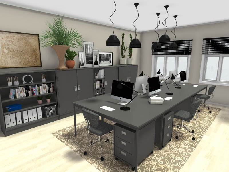 湖南浩安公装公司装修设计资讯知识湖南办公空间设计装饰材料的四大选用原则