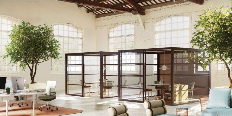 湖南浩安公装公司装修设计资讯知识长沙办公工装室内绿化设计的渊远历史与传承