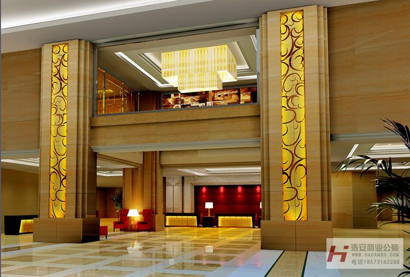 湖南酒店装修设计案例效果图