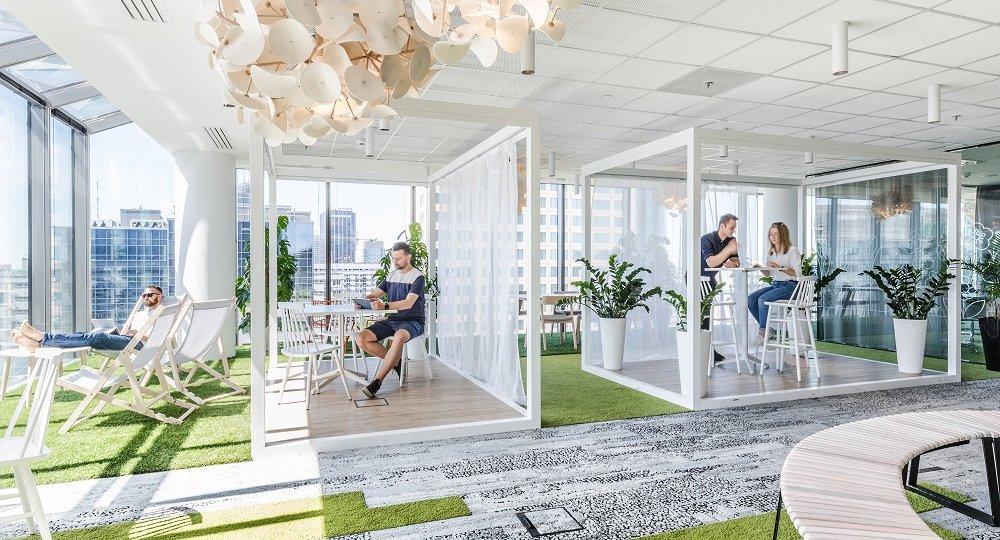 湖南浩安公装公司装修设计资讯知识湖南的新车间第一家办公创客空间装饰设计