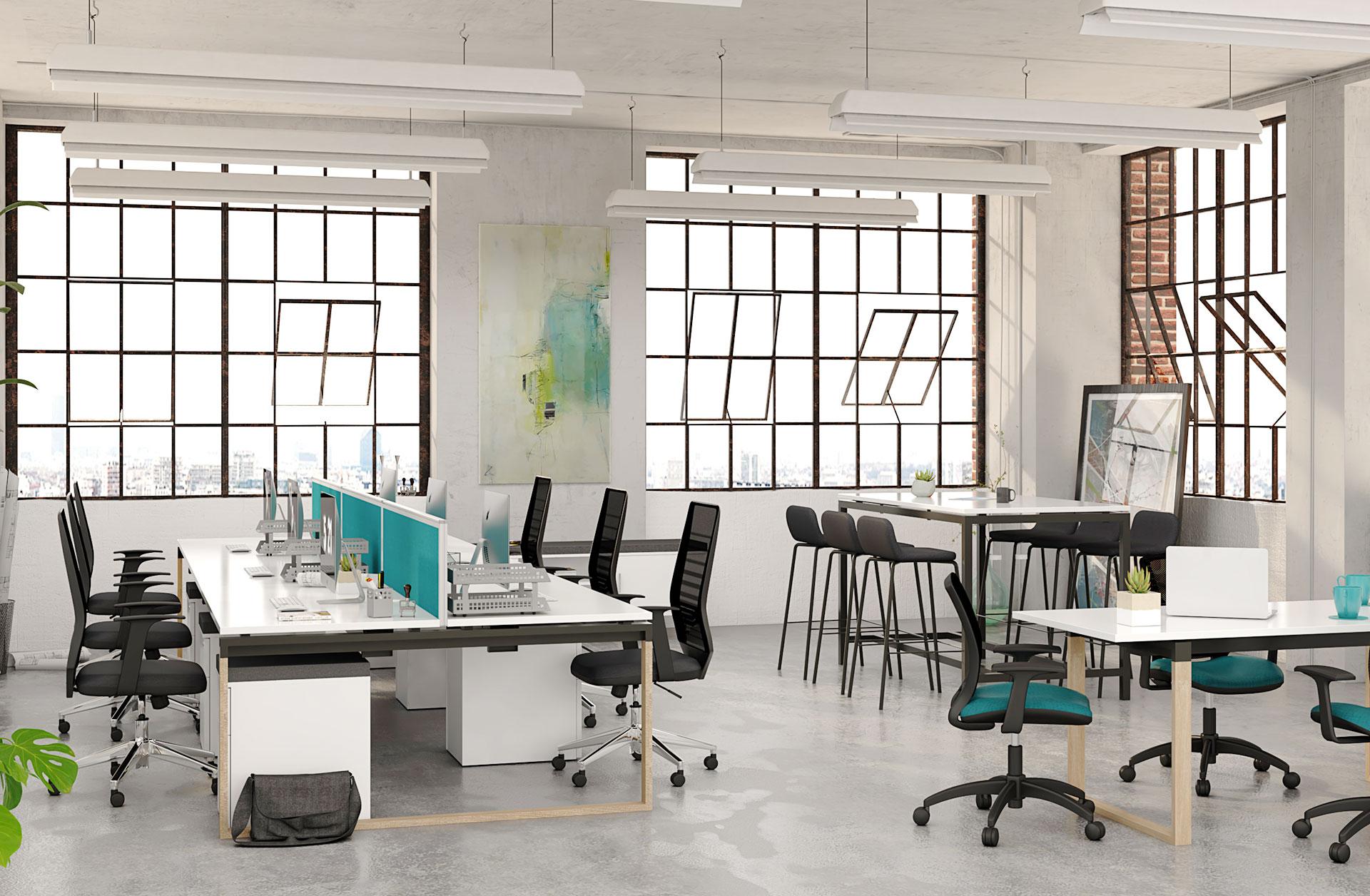 湖南浩安公装公司装修设计资讯知识衡阳大型办公室装修设计技巧有哪些?