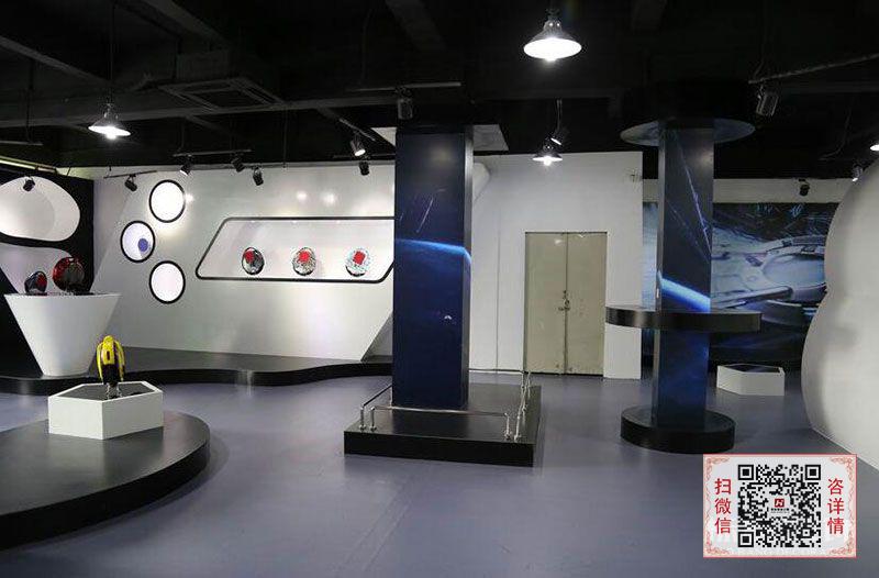 长沙装修公司浩安公装装修案例装修设计案例圣奇仕|科研企业展厅装修设计